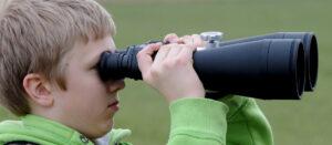 Birdwatching with children